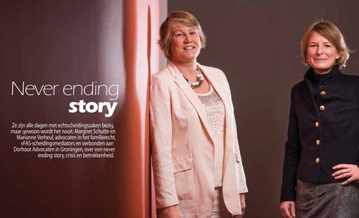 never ending story dorhout advocaten Marianne Verheul